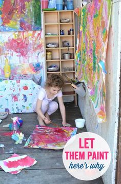 This is why it's so important to support and foster creativity for your kids. Art is like magic!
