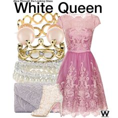 Inspired by Anne Hathaway as the White Queen in 2016's Alice Through the Looking Glass.