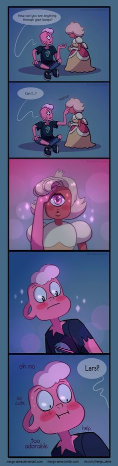 all Sapphire's secret weapon //I want to ship this but Sadie