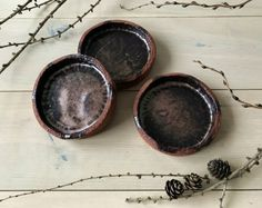 Shaman line Shaman tapas bowls, sprinkled with stardust that was collected on a spiritual tour ✨ Tapas, Sprinkles, Ceramics, Handmade, Ceramica, Pottery, Hand Made, Ceramic Art, Porcelain