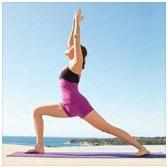 Warrior 1: For energy, flexibility and a fabulously focused feeling oolalipstick.blogspot.com #yoga #ashtanga #vinyasa #stress #relaxation #oolalipstick #blogger