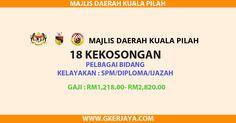 Jawatan kosong majlis daerah kuala pilah | Jawatan kosong kerajaan peluang kerjaya untuk seluruh rakyat malaysia yang berkelayakan