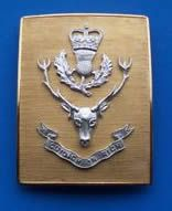The Queens Own Highlander's officer's Shoulder Belt Plate. Badges, Soldier Costume, Highlanders, Old And New, Genealogy, Queens, Army, British, Plate