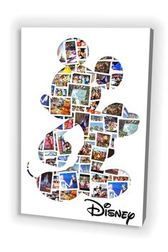 A perfect keepsake to capture those special moments. Our customers have requested orders for Birthdays, Anniversaries, Christenings, Wakes, Fathers and Mothers Day, Christmas, Weddings or a personal canvas to brighten up a room in the house with a happy memory. The Disney Mickey Mouse Photo design allows you room for up to 50 photos. You can use your own Disneyland photos or you can keep the sample photos that we have used in the design above. You can also personalise your canvas with a…
