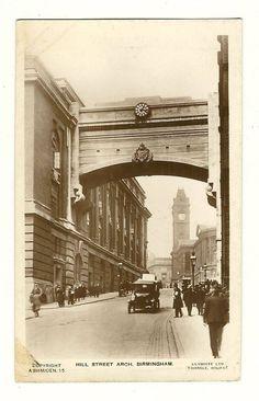 Hill Street Arch Birmingham Warwickshire England