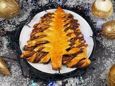 Λαχταριστό Χριστουγεννιάτικο δέντρο με πραλίνα Grill Pan, Camembert Cheese, Grilling, Cooking, Ethnic Recipes, Christmas, Food, Griddle Pan, Kitchen