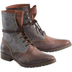 Diesel Stiefel ($320) ❤ liked on Polyvore