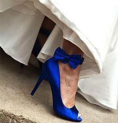 hochzeitsschuhe peeptoe Royal Blue Bridal Heels Peep Toe Ankle Bow Satin Pumps for Wedding for Wedding, Big day Royal Blue Wedding Shoes, Cobalt Blue Weddings, Royal Blue Heels, Blue Wedding Heels, Cobalt Blue Shoes, Blue Satin Shoes, Cobalt Wedding, Colorful Wedding Shoes, Blue Bridal Shoes