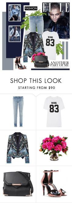 """Anna Selezneva - Elle Spain"" by redflowergirl ❤ liked on Polyvore featuring Marc by Marc Jacobs, LPD NEW YORK, Just Cavalli, New Growth Designs, Alexander Wang and Pierre Hardy"