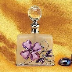 StealStreet SS-A-51596 Dragonfly Perfume Bottle by StealStreet. $6.92. Brand new never used condition. The craftsmanship of this piece is superb, this piece is made of Glass, Stainless Steel. Great Perfume Bottle piece, makes a perfect gift for any holiday or occasion. This gorgeous new dragonfly perfume bottle scented fragrance container decoration has the finest details and highest quality you will find anywhere. The new dragonfly perfume bottle scented fragrance co... by amber