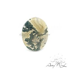 28.20Cts. Natural Moss Agate Gemstone Cabochon Size by AoryNL