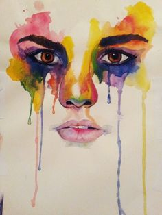 Water colour. Art by me. Marion bolognesi