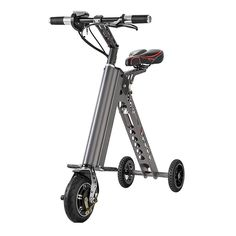 2019 2017 3 Wheels Mini Foldable Electric Bicycle Hoverboard 7.2AH Alloy Folding Electric Bike E Bike Scooter Easy Folding Scooter From Fitness_equipment_, $442.88 | DHgate.Com