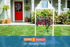 Add some color to your front yard with @kennethwingard's DIY Plant Stand. Be sure to catch Home & Family at 10/9c on Hallmark Channel!