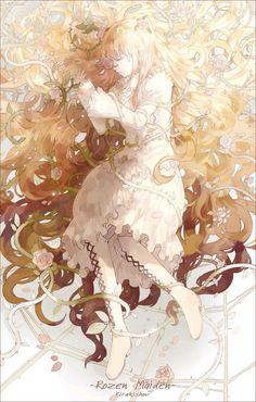 A online pace for discussion about anime/manga related things around the world Manga Anime, Manga Art, Anime Angel, Beautiful Anime Girl, I Love Anime, Fantasy Kunst, Fantasy Art, Kawaii Anime, Blondes Anime Girl