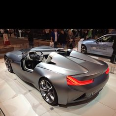 Best of show Concept car at this year's show: BMW's Vision Coupe Concept. Incredible.