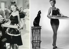 Cigarette girls popped up all over the place in the 40s and 50s ...