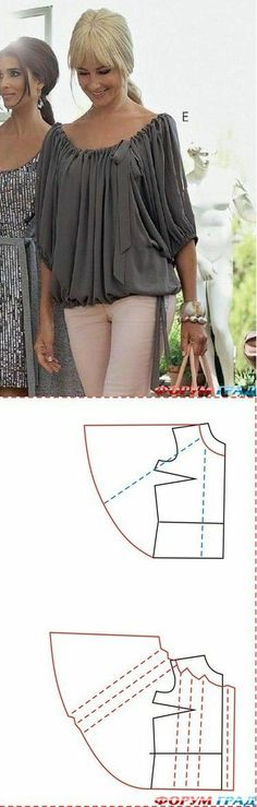 Blouse pattern instructions