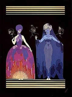 erte - Evening night