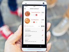 Pizza delivery iOS app