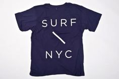 SATURDAYS SURF NYC : Surf Slash T-Shirt (Navy) | Sumally (サマリー)