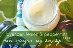 DIY Allergy Relief Balm