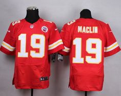 Nike Kansas City Chiefs #19 Jeremy Maclin Red Elite Jersey
