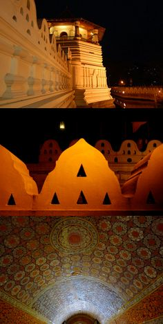 Night over the Sri Dalada Maligawa, Kandy Haruki Murakami, Sri Lanka, Tooth, Temple, Ocean, Sky, Night, Holiday, Tips
