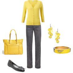 Casual work day attire