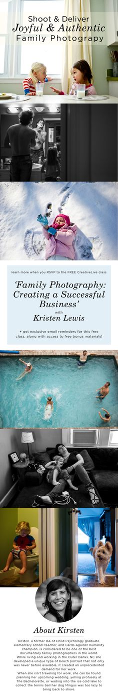 Family Photography: Modern Storytelling with Kirsten Lewis Photography For Beginners, Photography 101, Newborn Photography, New Class, Family Memories, Family Photographer, Storytelling, How To Make Money, Maternity