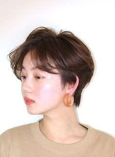 Korean Hairstyles Women, Redhead Hairstyles, Japanese Hairstyles, Asian Hairstyles, Men Hairstyles, Asian Haircut Short, Korean Short Hair, Japanese Short Hair, Short Hair With Layers