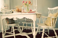 Image detail for -Spring Tablescape from Dandelion & Grey | The Sweetest Occasion