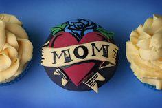 Glitzer, Zucker, Frosting - Heart of Dough, der Cupcake-Blog: Für Tattoo-Fans