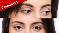 Eye Makeup Tips For Big Eyelids - Beauty Hooded Eye Makeup, Cat Eye Makeup, Simple Eye Makeup, Smokey Eye Makeup, Big Eyelids, Pro Makeup Tips, Protruding Eyes, Beginners Eye Makeup, Eye Tricks