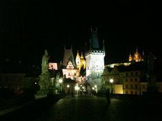 The most #beautiful #bridge ever #Prague #inlove