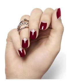 Fall Nail Color Trends 2014 | Dark red nail art, nail art trends fall