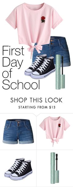 """back"" by tori0628 on Polyvore featuring LE3NO and WithChic"