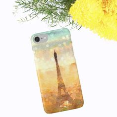 French iPhone Case Eiffel Tower Paris iPhone Case by ChezLorraines