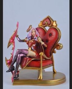 HOT LOL League of Legends Valentine's day Frost Archer Ashe figure Free shipping