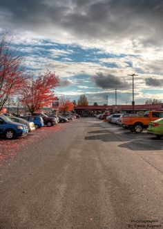 #langley #parking #sunshine #clouds