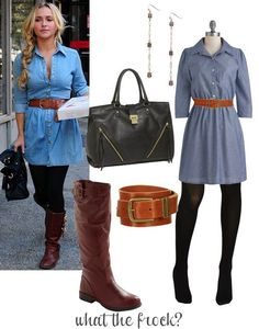What the Frock? - Affordable Fashion Tips and Trends: Celebrity Look for Less: Hayden Panettiere Style