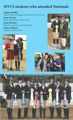 Equestrian  Students compete in Nationals from Monte Vista Christian School