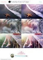 Photoshop Crimson shimmer Action by lieveheersbeestje on deviantART