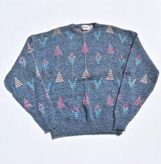 Vintage Oversize Sweaters 90s Grunge Swearter 80s Sweater Grunge Fashion