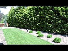 Minimál, egyszerű és letisztult kert, modern vonalvezetéssel - YouTube Stepping Stones, Modern, Minimalism, Facebook, Outdoor Decor, Youtube, Plants, Stair Risers, Trendy Tree