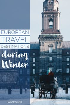Europe has plenty wonderful cities, but where to go during the cold December and January months? Find out our favourite Winter holiday destinations!