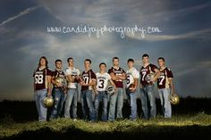 Senior boys photos in the grass | The Boys of Fall | Chatfield Gopher Senior Football | Southeast ...