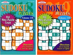 Kappa Sudoku Puzzles Book (2 Volumes/Books) Digest Size, 2015 Amazon Top Rated Sudoku Puzzles #Toy
