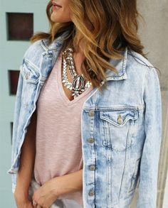 A Silver or Gold Statement Necklace