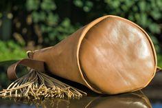 Handmade leather bucket bag Handmade Leather, Leather Craft, Saddle Bags, Leather Backpack, Bucket Bag, Backpacks, Leather Crafts, Leather Backpacks, Backpack